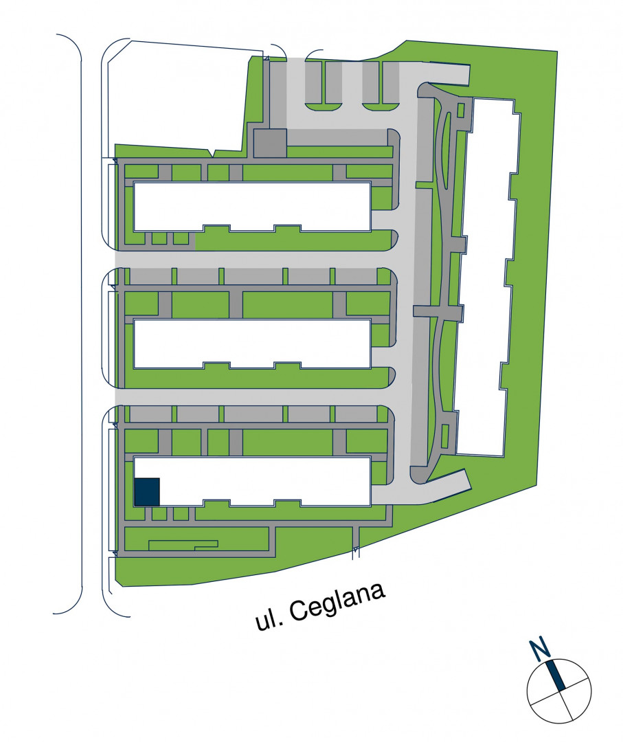 Zdrowe Stylove / budynek 1 / mieszkanie nr M23 rzut 3