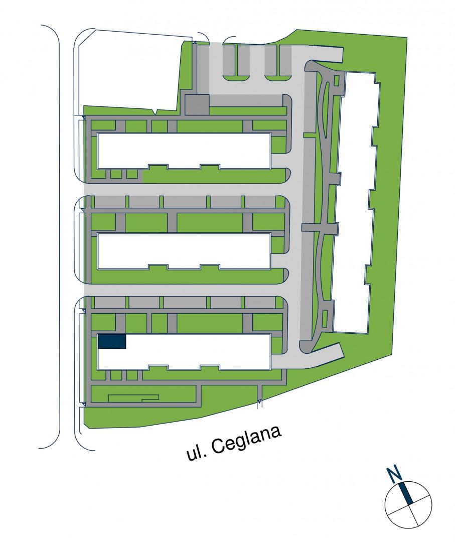 Zdrowe Stylove / budynek 1 / mieszkanie nr M24 rzut 3