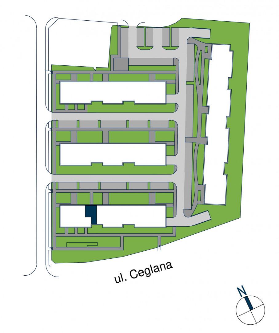 Zdrowe Stylove / budynek 1 / mieszkanie nr M25 rzut 3