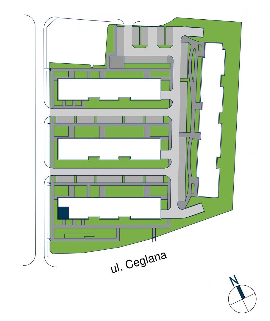 Zdrowe Stylove / budynek 1 / mieszkanie nr M33 rzut 3