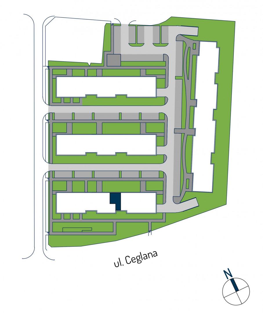 Zdrowe Stylove / budynek 1 / mieszkanie nr M35 rzut 3