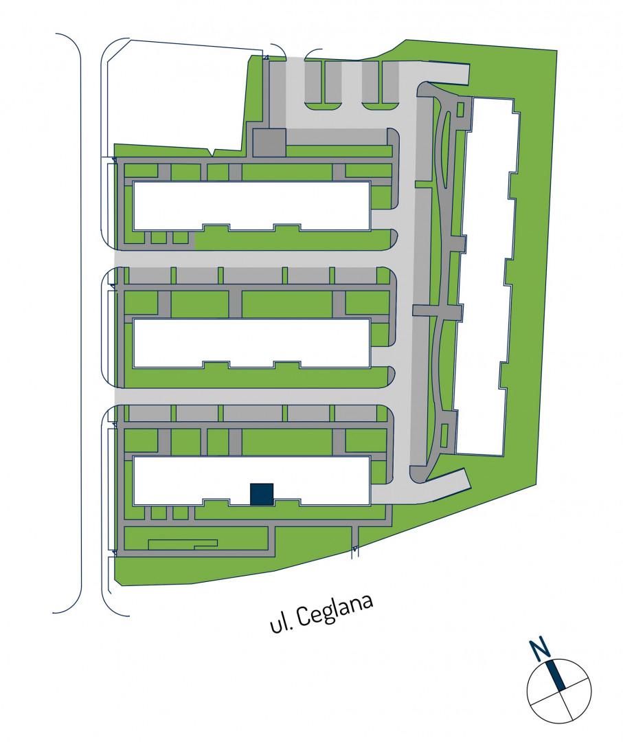 Zdrowe Stylove / budynek 1 / mieszkanie nr M36 rzut 3