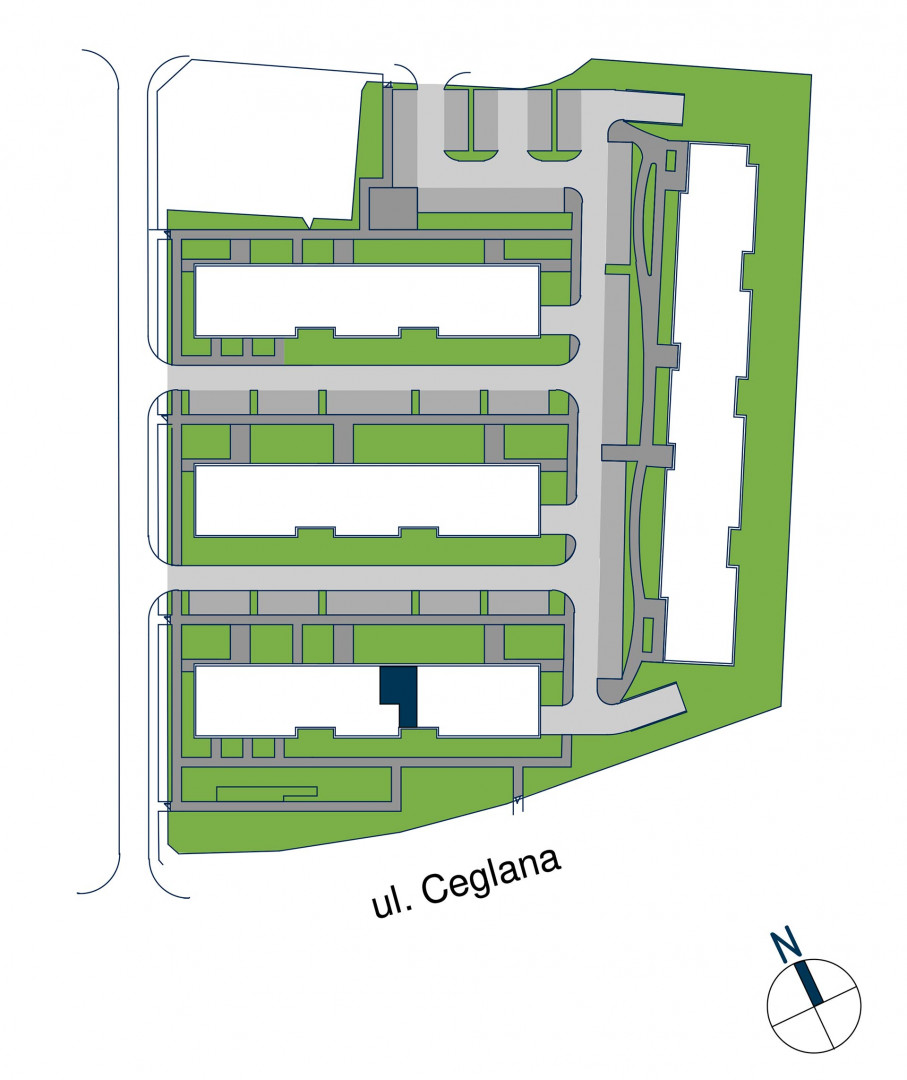 Zdrowe Stylove / budynek 1 / mieszkanie nr M47 rzut 3