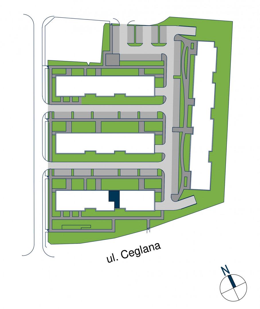 Zdrowe Stylove / budynek 1 / mieszkanie nr M55 rzut 3