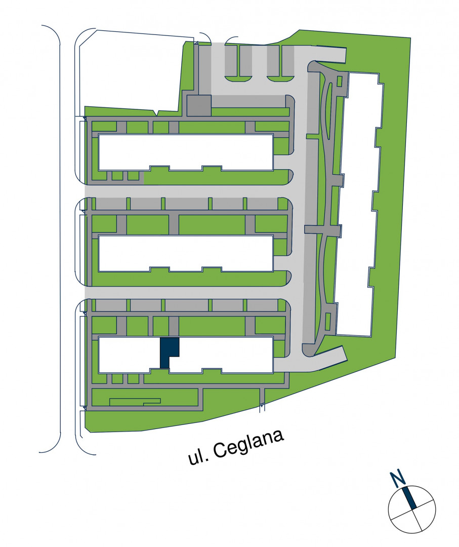 Zdrowe Stylove / budynek 1 / mieszkanie nr M62 rzut 3