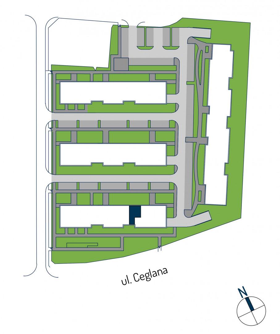 Zdrowe Stylove / budynek 1 / mieszkanie nr M64 rzut 3