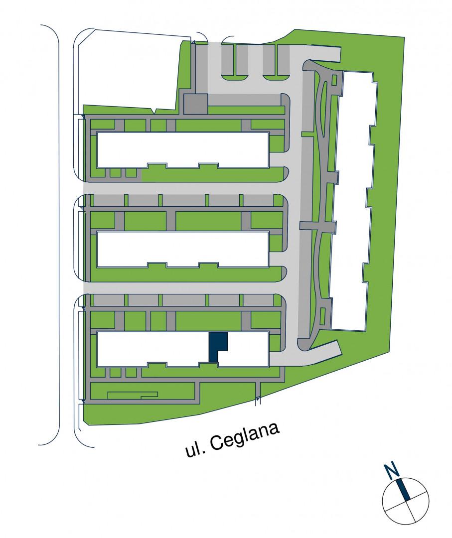 Zdrowe Stylove / budynek 1 / mieszkanie nr M74 rzut 3