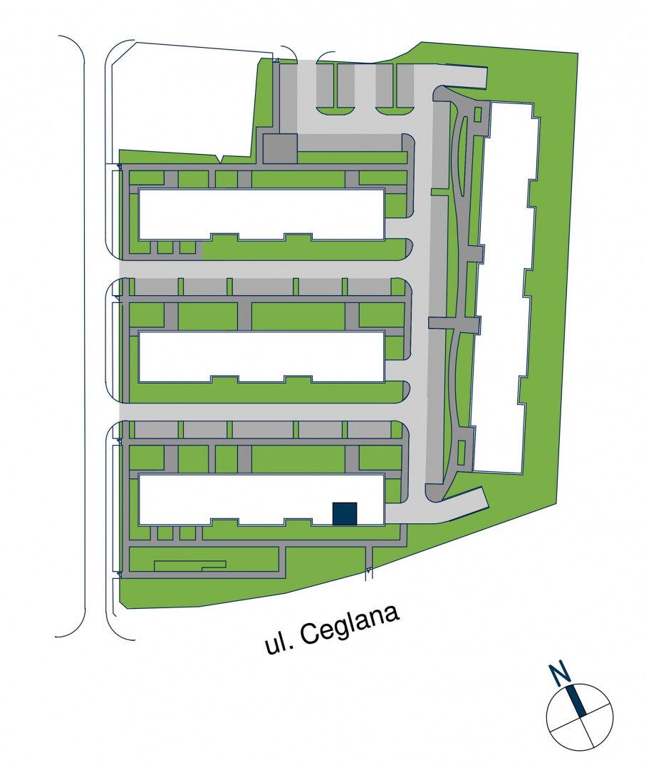 Zdrowe Stylove / budynek 1 / mieszkanie nr M76 rzut 3