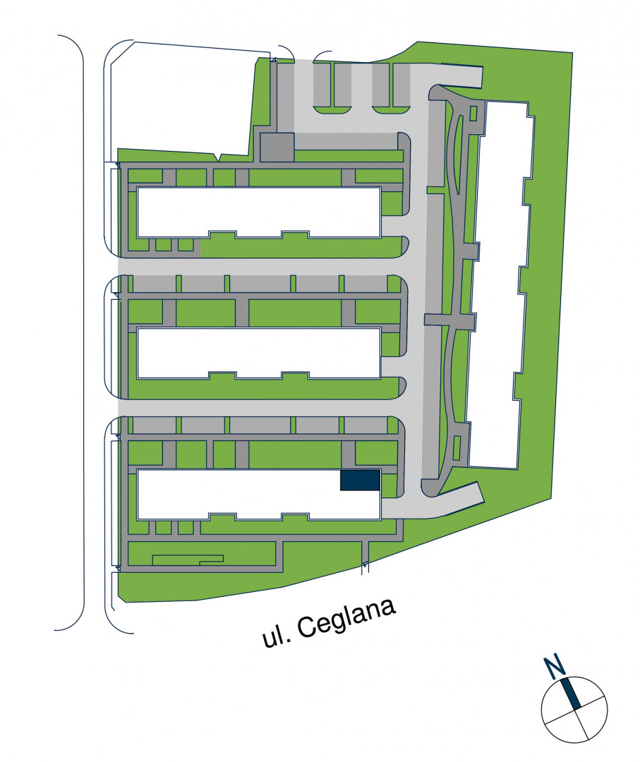 Zdrowe Stylove / budynek 1 / mieszkanie nr M80 rzut 3