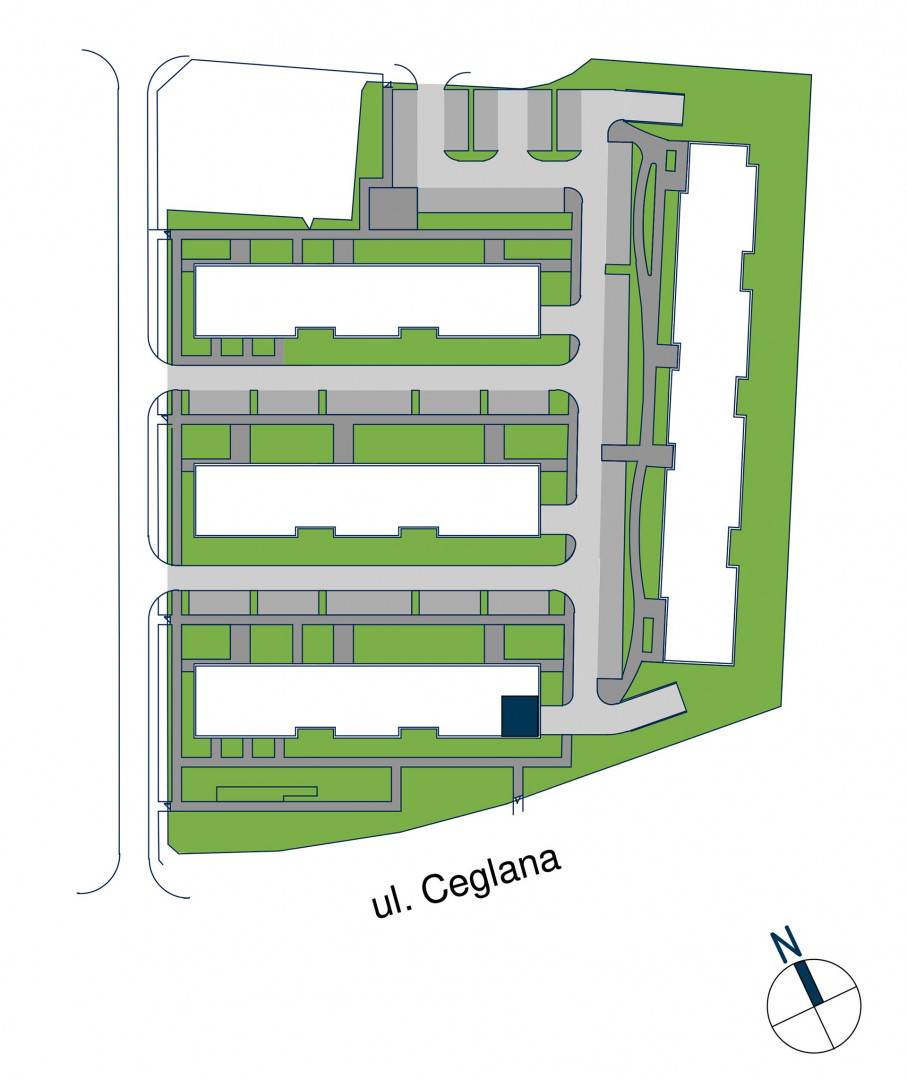 Zdrowe Stylove / budynek 1 / mieszkanie nr M91 rzut 3