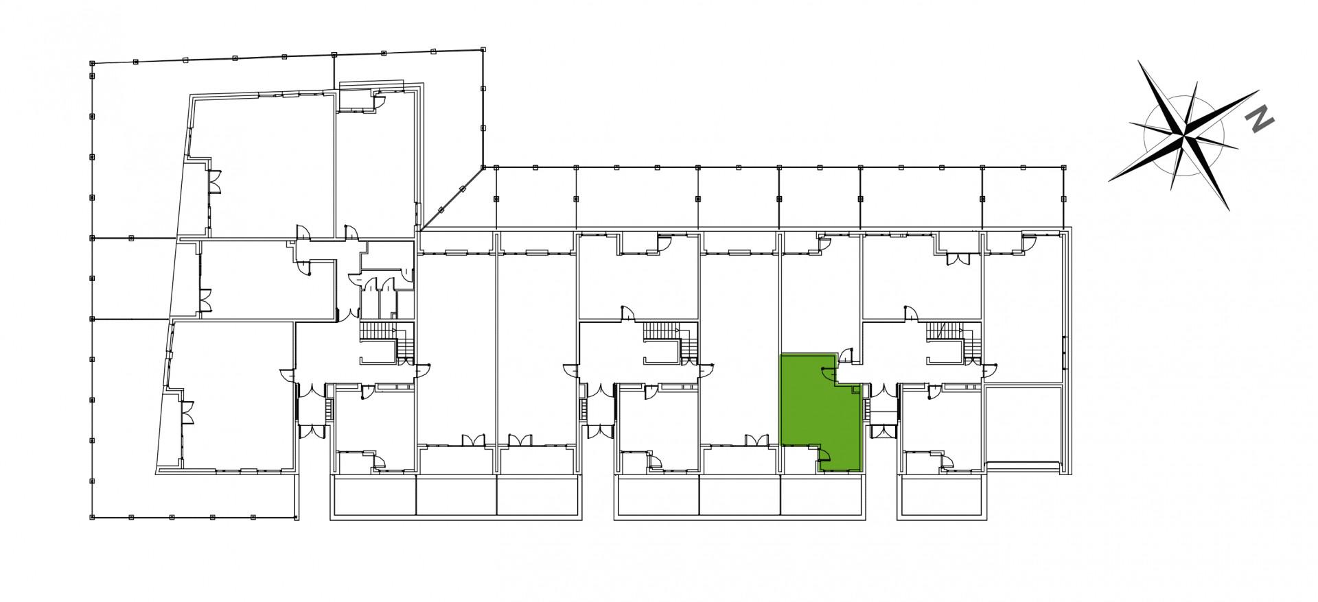 Mazowiecka 72 / apartament nr 1 rzut 2