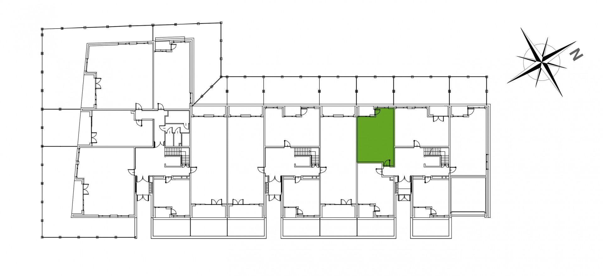 Mazowiecka 72 / apartament nr 2 rzut 2