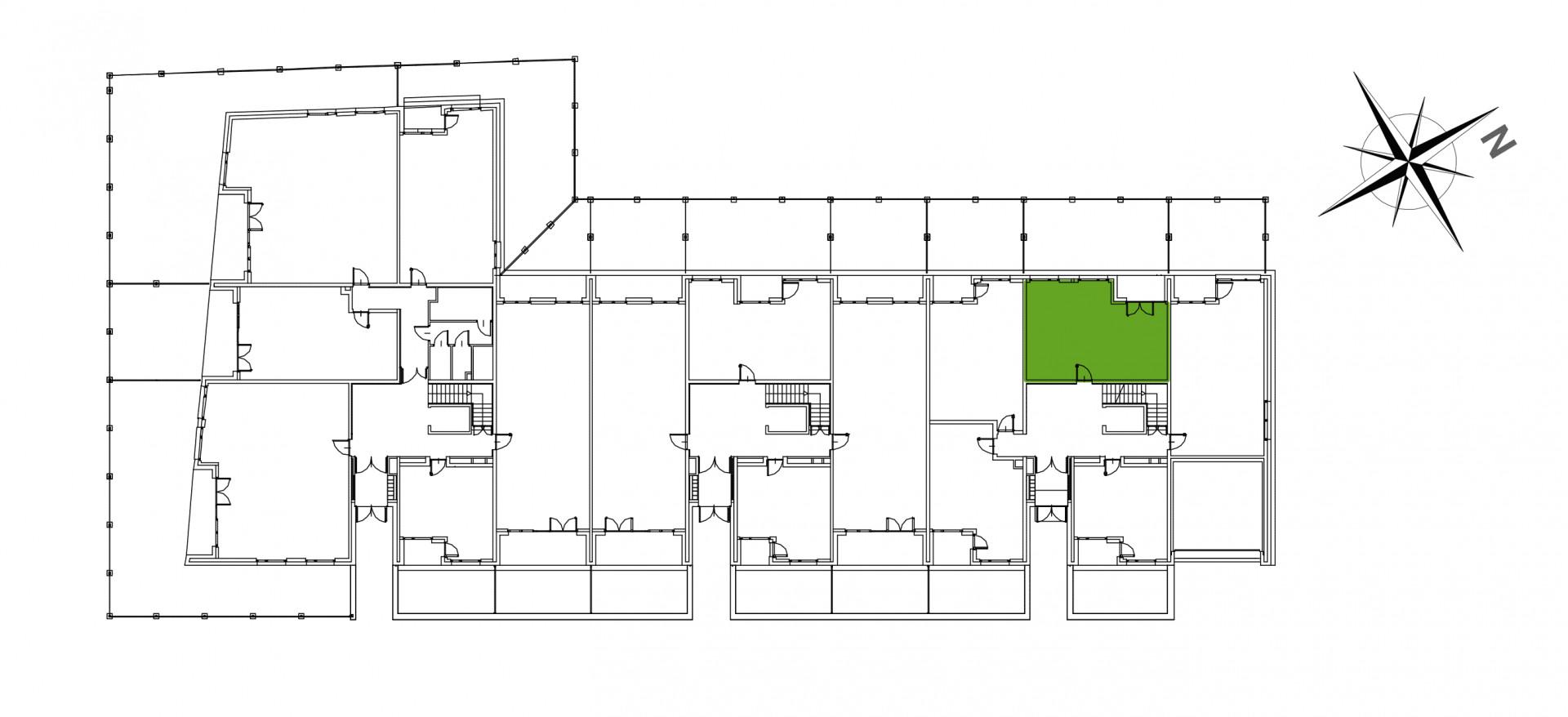 Mazowiecka 72 / apartament nr 3 rzut 2