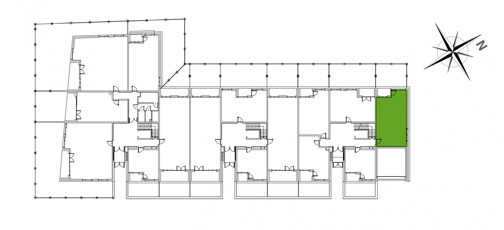 Mazowiecka 72 / apartament nr 4 rzut 2