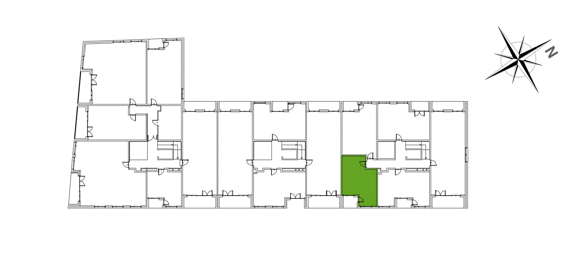 Mazowiecka 72 / apartament nr 6 rzut 2