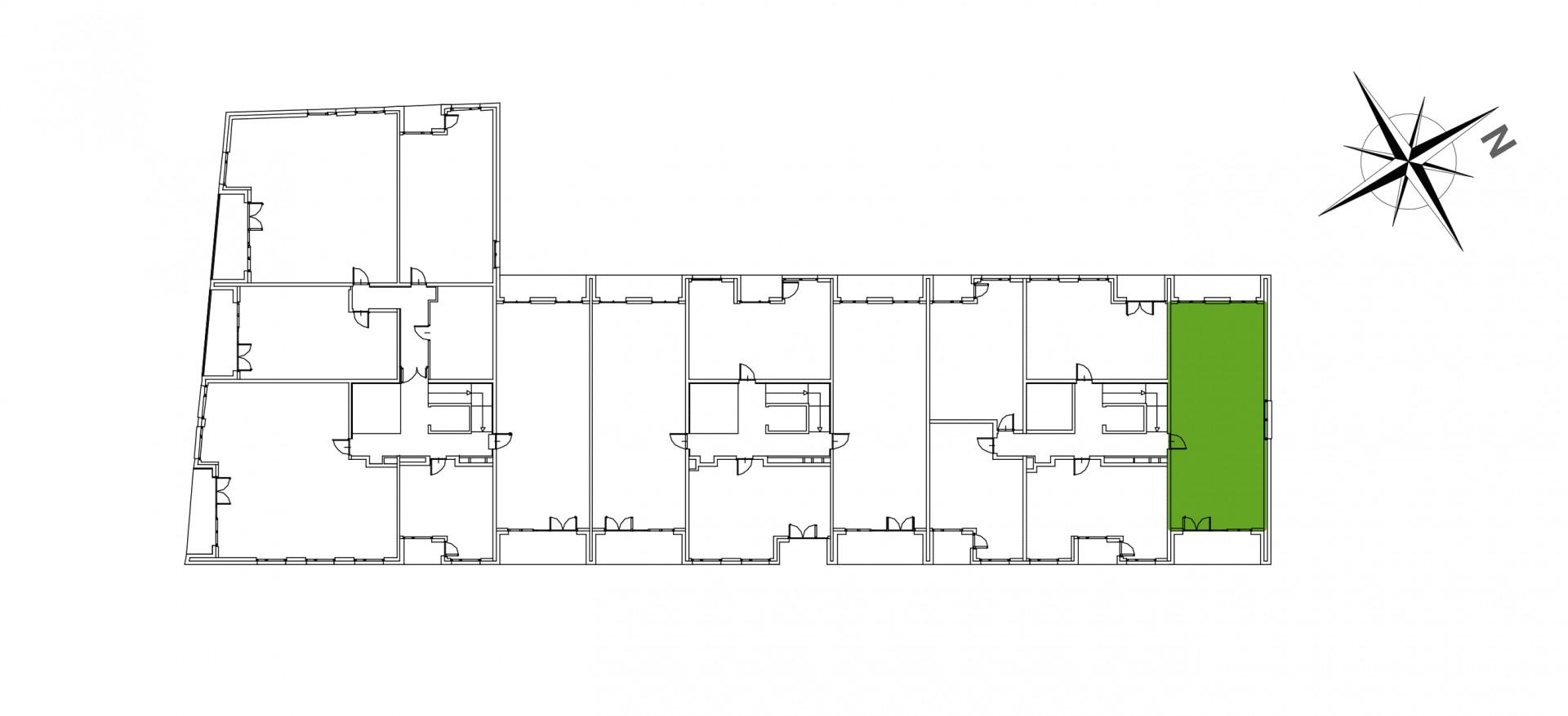 Mazowiecka 72 / apartament nr 14 rzut 2