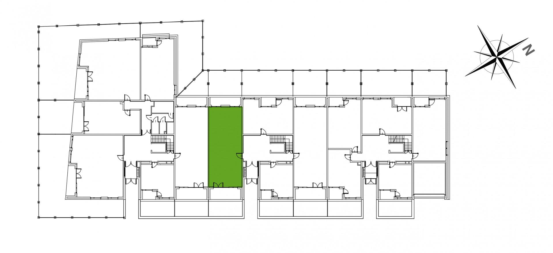 Mazowiecka 72 / apartament nr 24 rzut 2