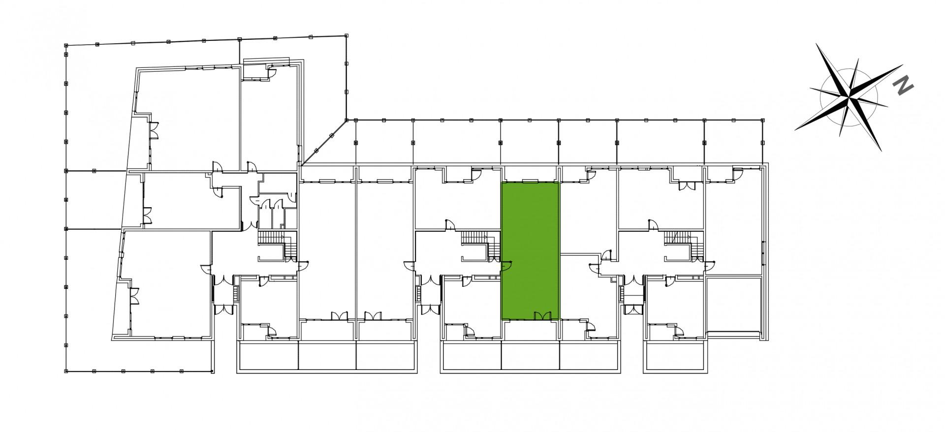 Mazowiecka 72 / apartament nr 26 rzut 2