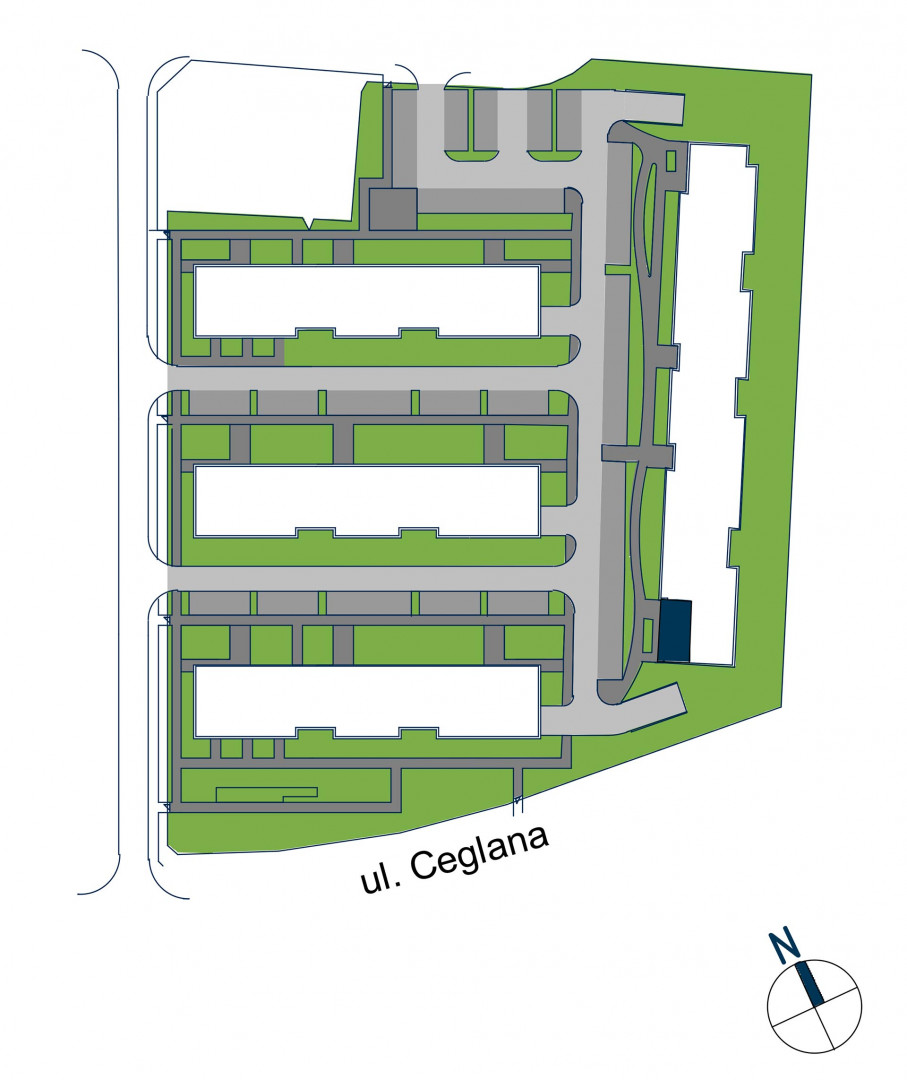 Zdrowe Stylove / budynek 2 / mieszkanie nr 7 rzut 3