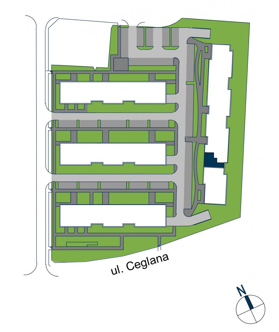 Zdrowe Stylove / budynek 2 / mieszkanie nr 42 rzut 3