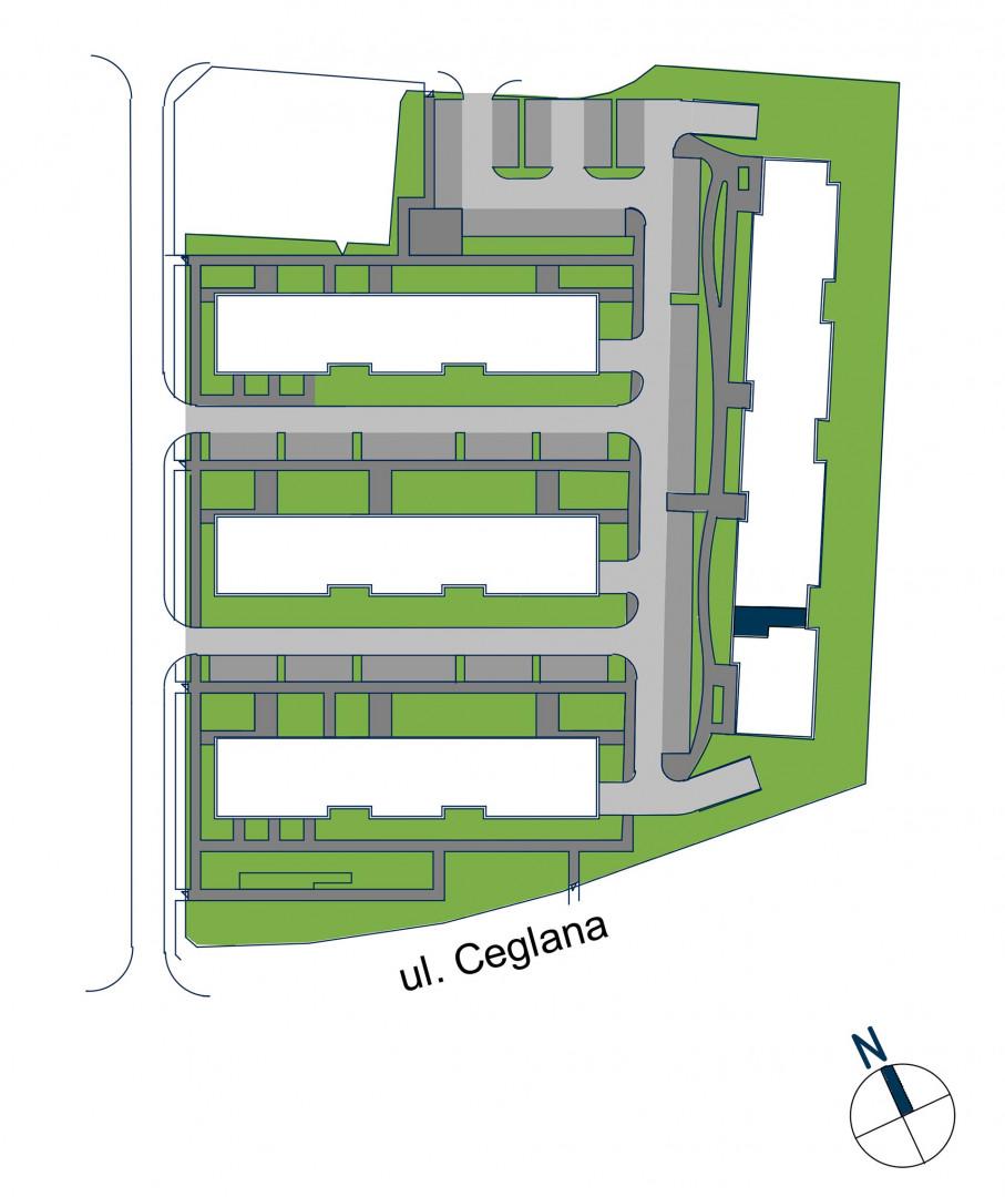 Zdrowe Stylove / budynek 2 / mieszkanie nr 8 rzut 3