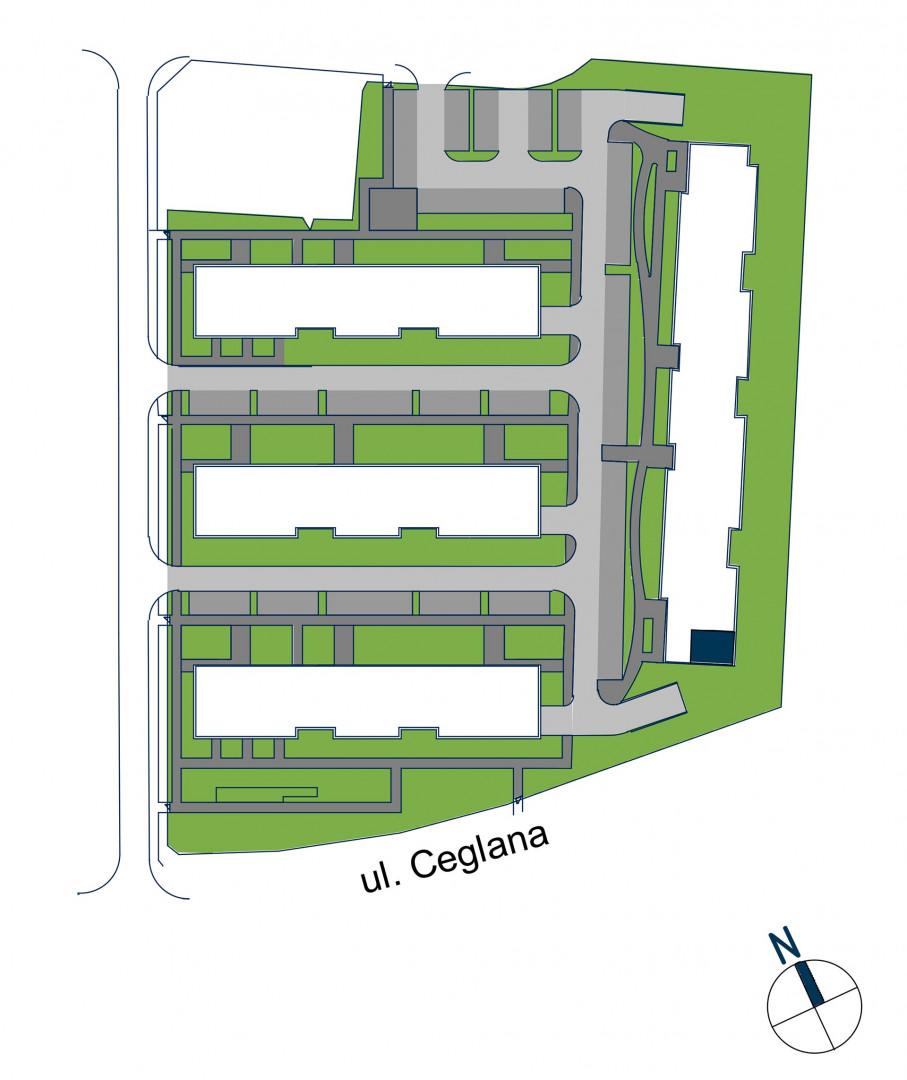 Zdrowe Stylove / budynek 2 / mieszkanie nr 11 rzut 3
