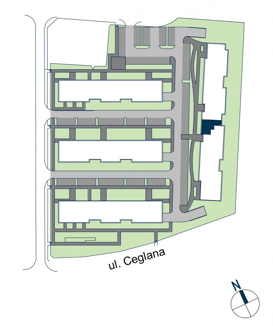 Zdrowe Stylove / budynek 2 / mieszkanie nr 44 rzut 3