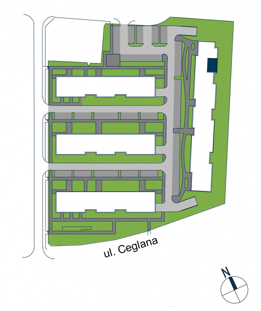 Zdrowe Stylove / budynek 2 / mieszkanie nr 125 rzut 3