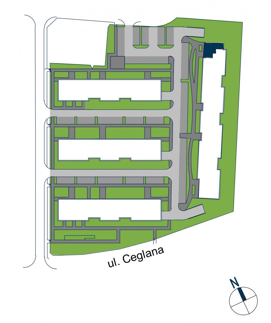 Zdrowe Stylove / budynek 2 / mieszkanie nr 127 rzut 3
