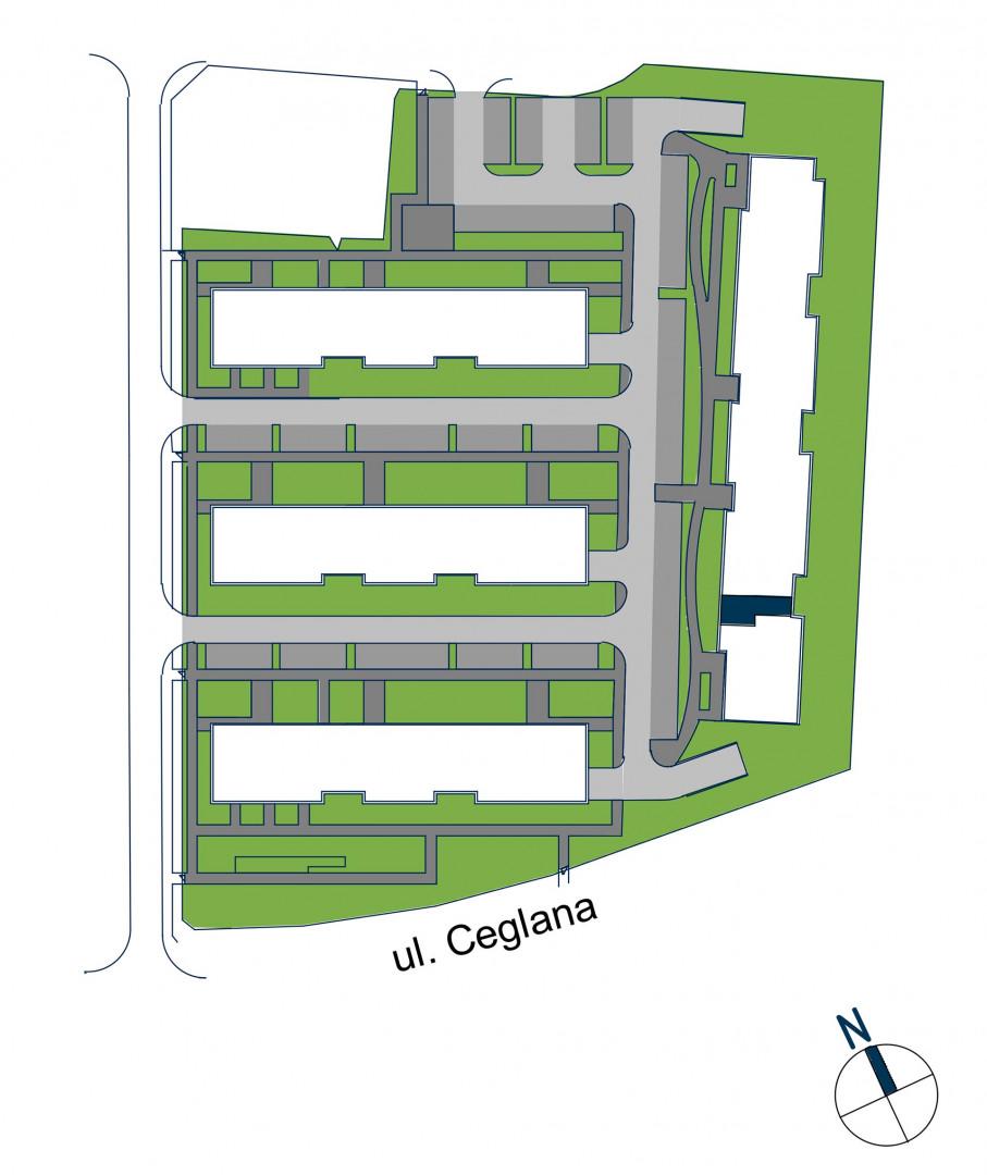Zdrowe Stylove / budynek 2 / mieszkanie nr 28 rzut 3