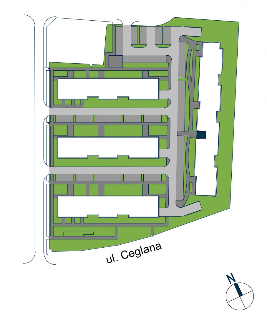 Zdrowe Stylove / budynek 2 / mieszkanie nr 71 rzut 3