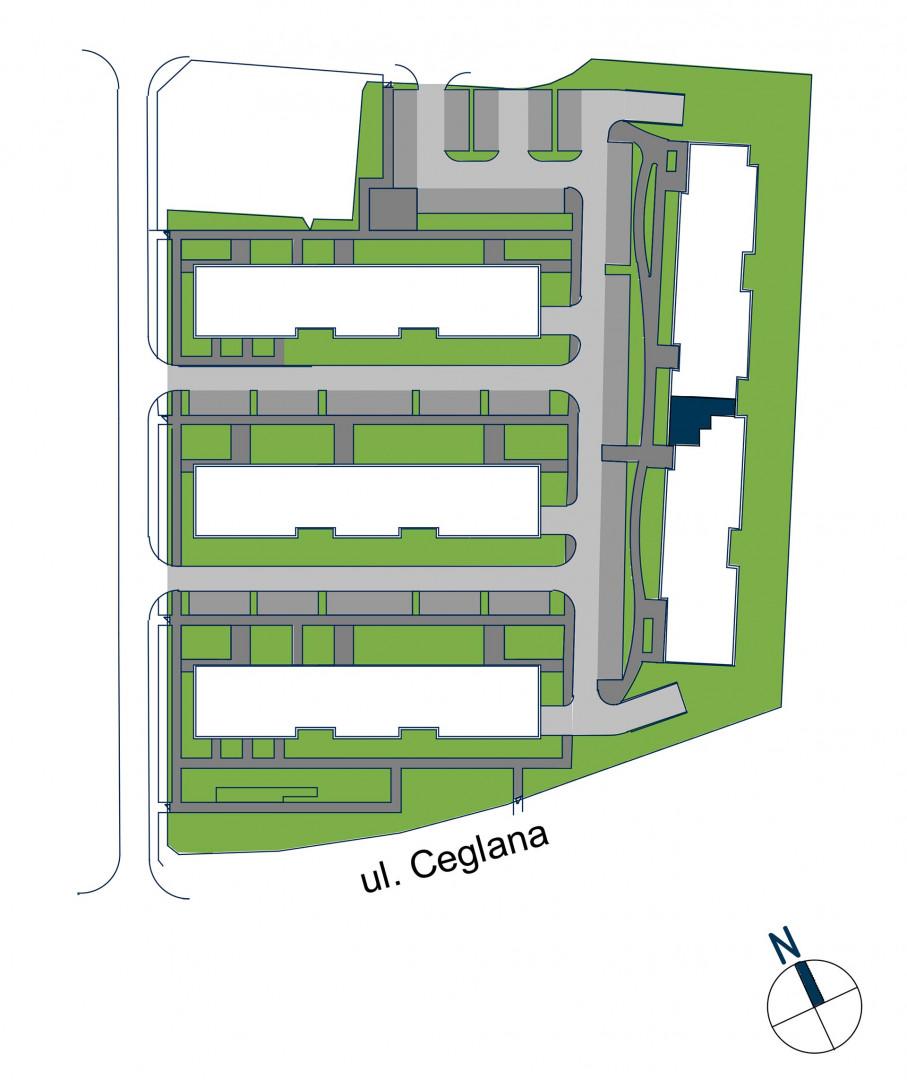 Zdrowe Stylove / budynek 2 / mieszkanie nr 72 rzut 3
