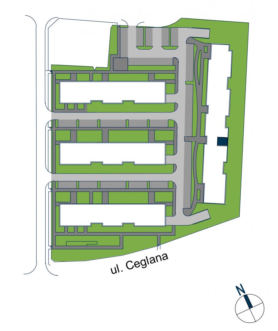 Zdrowe Stylove / budynek 2 / mieszkanie nr 74 rzut 3