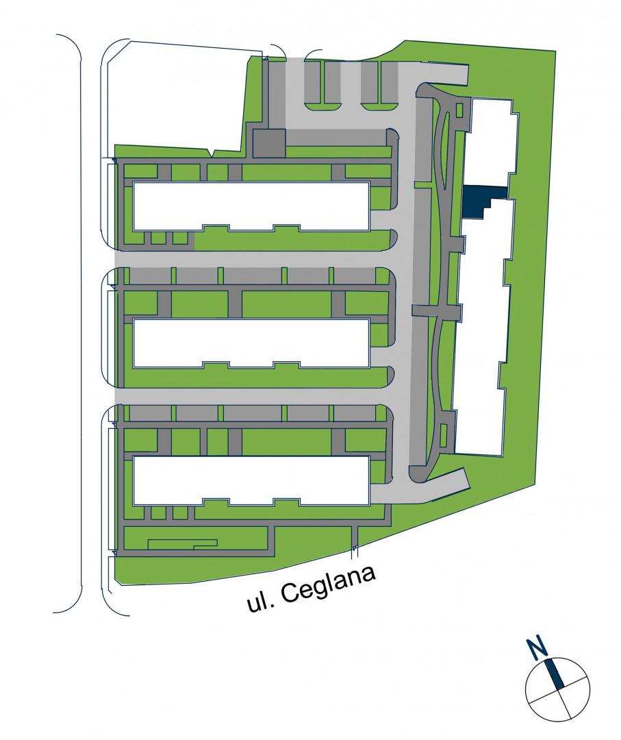 Zdrowe Stylove / budynek 2 / mieszkanie nr 105 rzut 3