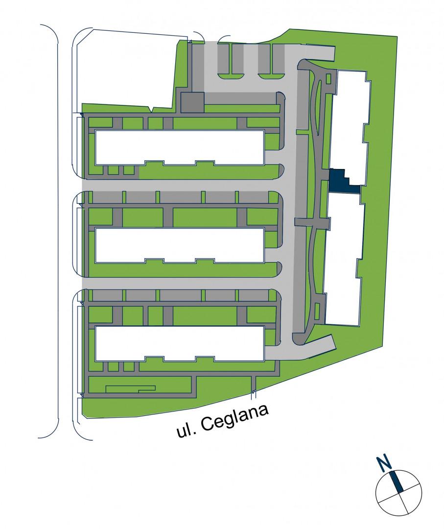 Zdrowe Stylove / budynek 2 / mieszkanie nr 109 rzut 3